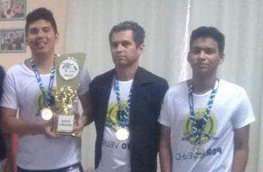 Equipe campeã dos Jogos Intermunicipais de Rondônia 2016
